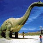 скульптурные изображения динозавров