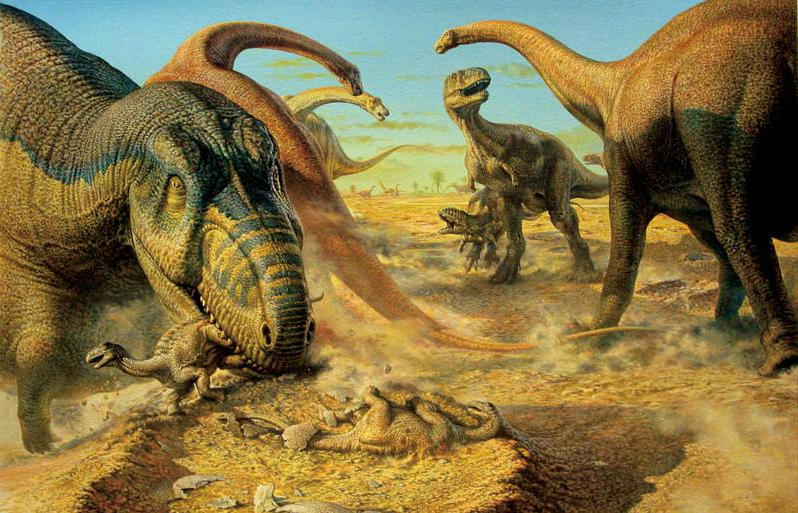 Динозавры юрского периода фото