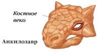 Защита глаз анкилозавра