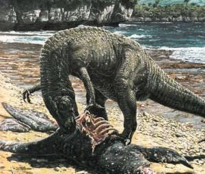 Плотоядный мегалозавр