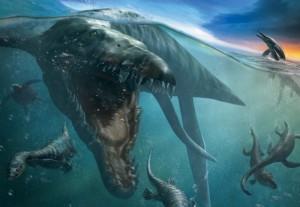 Какие животные и рыбы появились вместе с динозаврами?