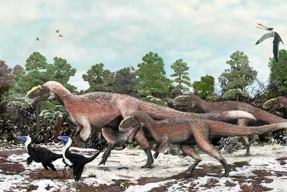 Все о пернатых динозаврах