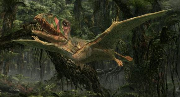 Птерозавры были первым удачным экспериментом эволюции с активного полета у позвоночных.