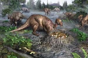 Размножение динозавров