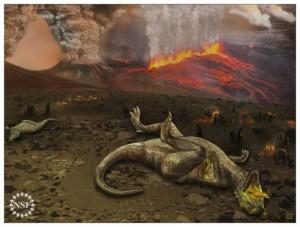 Новая гипотеза вымирания динозавров